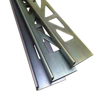 90 Degrees Right Angle Stainless Steel Decoration For Tile Bronze Metal L Shaped Straight Edge