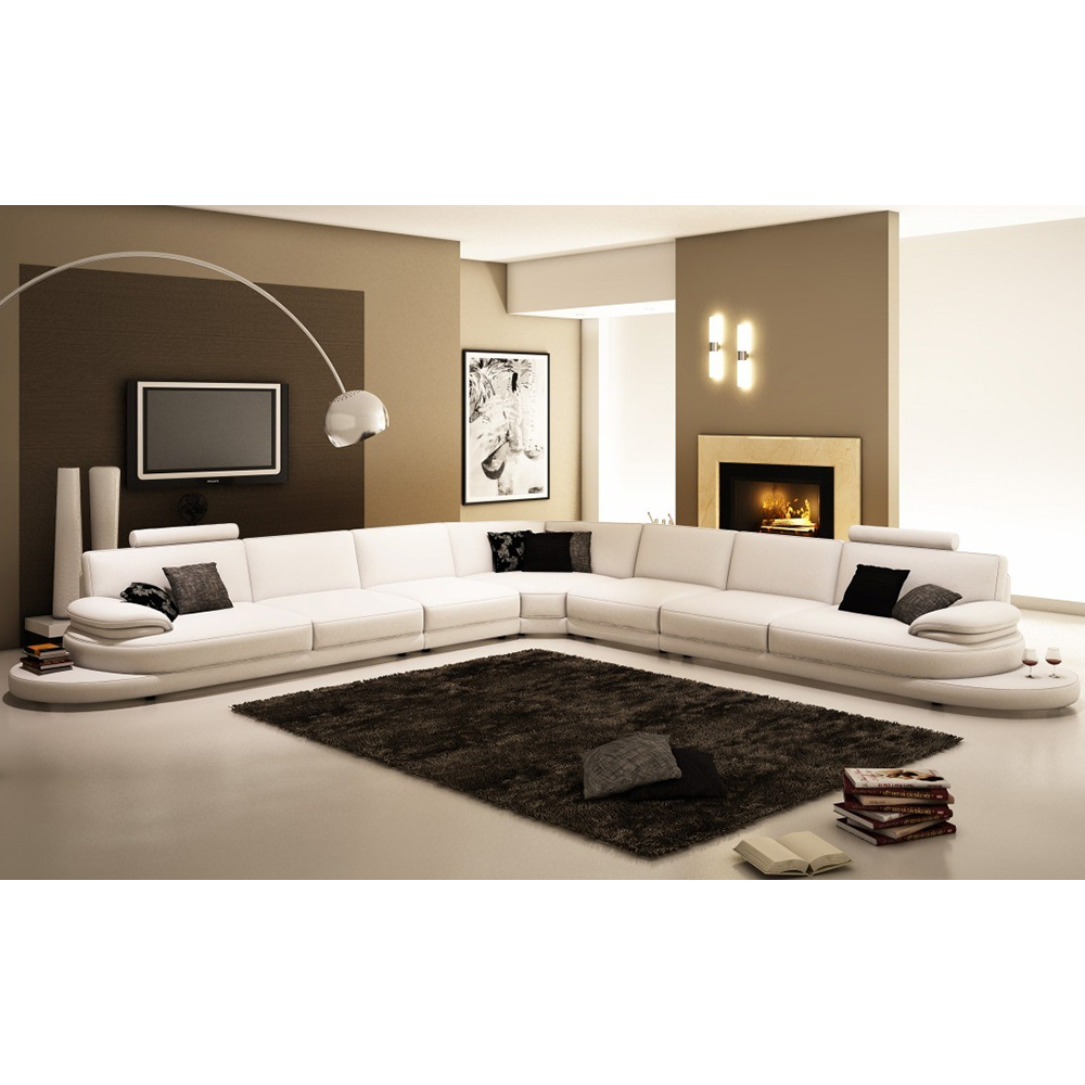 Long Leather Sofa Supplieranufacturers At Alibaba