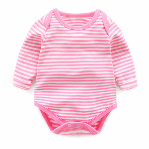 eco friendly wholesale baby clothes soft long sleeve bamboo organic cotton baby romper