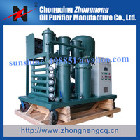 Mobile Vacuum Lube Oil Recycle Machine, Waste Oil Filtering Machine, Dirty Oil Cleanning Machine