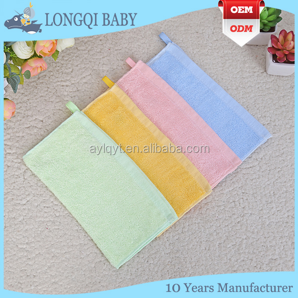 4 Pack 100% Bamboo Baby Wash Cloths, soft 10''x10'' baby bamboo washcloth