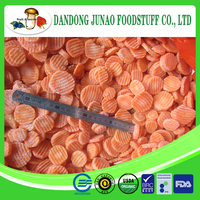 Chinese fresh frozen bulk carrot