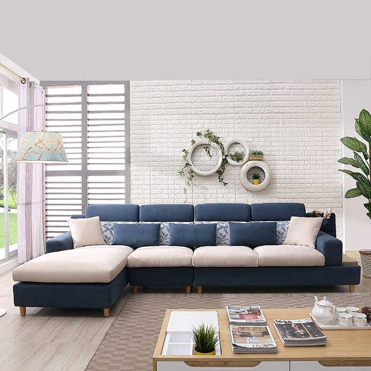 Set Living Room Modern Style Sofa