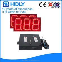 Alibaba VIP supplier waterproof gasoline led price sign for sale