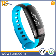 Smart band Heart Rate Blood Pressure Monitor Waterproof IP67 Swimming Wristband With BLE Fitness Tracker 2017