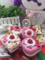 original package rare hello kitty squishy sweet cake squishys Toys charm pink stress toy Strap wholesales