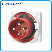 415v 32a IP67 waterproof industrial round 4-pin power plug