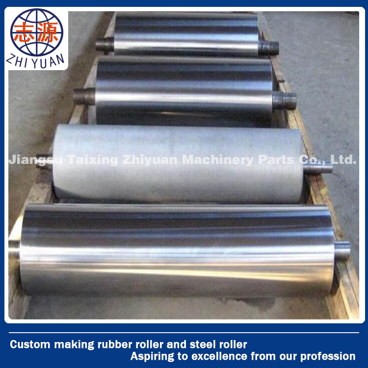 zinc plated/ chrome coated/ teflon coated steel roller