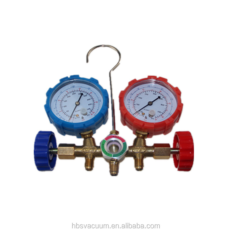 HBS r134a Manifolds gauge for car air conditioner system