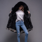 High Quality Fashionable Winter Jacket Women Parkas European Fashion Winter Fitted Woman Coat