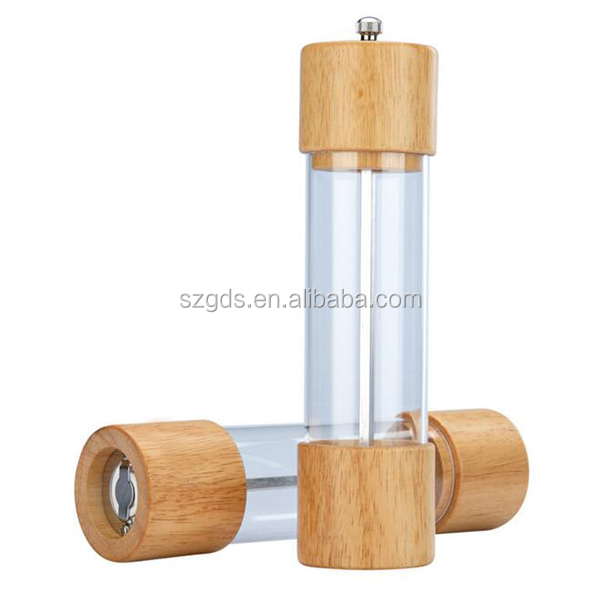 4 x 20.5 cm Greek Mill//Grinders New Pepper and Salt grinder Copper set of 2