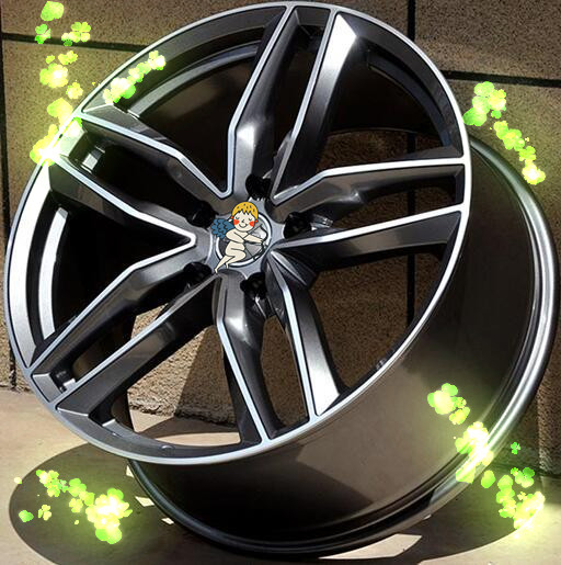 17 18 19 20 21 22 inch 5x112 car alloy wheels fit for audi in wheels from automobiles. Black Bedroom Furniture Sets. Home Design Ideas