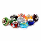 Hot Selling Faceted murano Lampwork Glass 10 pcs Mix Color Glass Beads Loose Beads