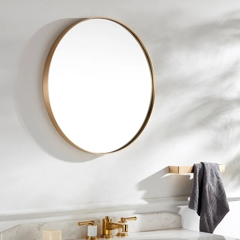 European Beautiful Mirrors Decor Wall Round for Hotel Bathroom