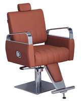 Portable hair salon chairs all purpose chair back reclining styling barber chair