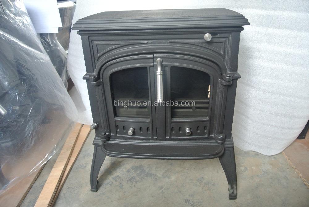 Coal Stove Type Wood Stove Double Iron Door Stove Bh04 8kw