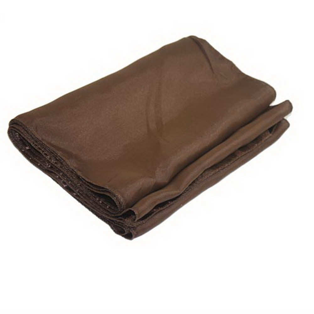 "Elegant 12"" x 108"" Cloth Brown Table Runner Seamless Wedding Party Catering Party Decorations Accessories"