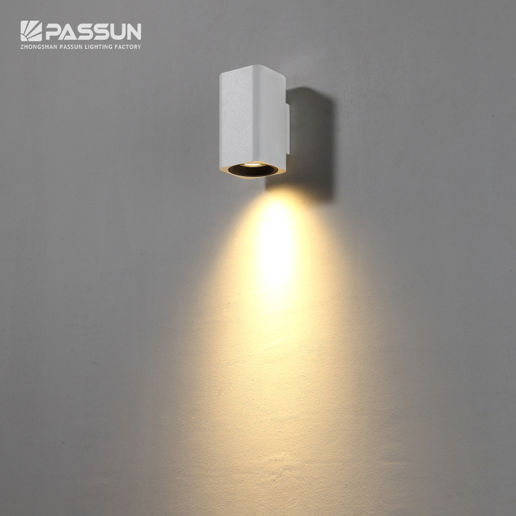 High Quality 5 Years Warranty White Painting Surface Wall Lamp 3000k View High Quality Wall Lamp Passun Product Details From Zhongshan Passun