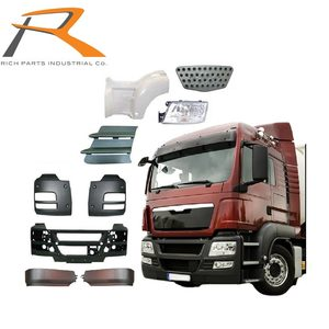 European Truck Body Made in Taiwan Truck Bumper, Mirror, Lamp, Fender, MAN Truck Spare Parts