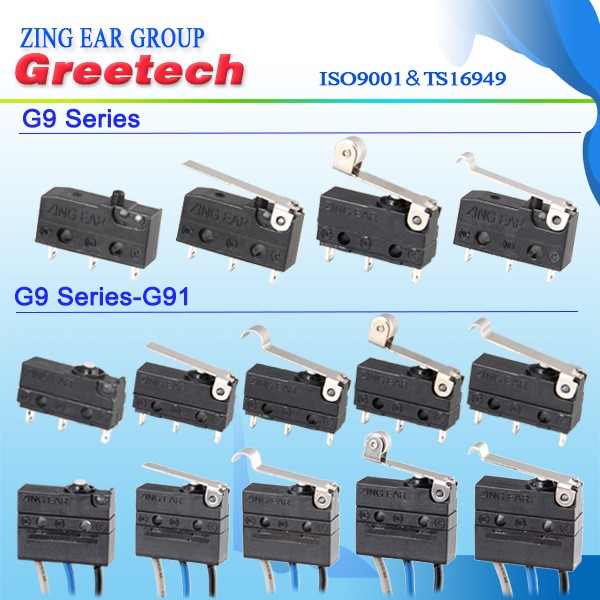 2019 new design waterproof subminiature micro switch for home appliance