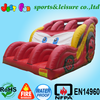 commercial red color inflatable car slide for rental use
