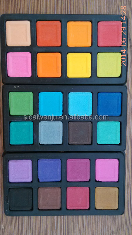 24-water color set The palette color paint brush set painting cakes