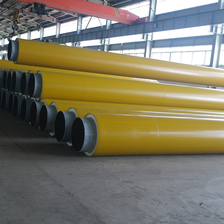 Supply heat pipeline pre insulated carbon thermal insulation steel pipe