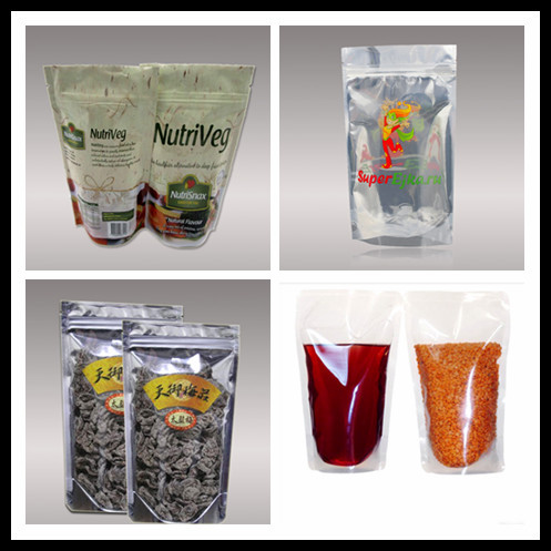Custom printed Front Clear Back Black Mylar Foil Smell Proof Plastic Bags for herb food packaging china suppliers