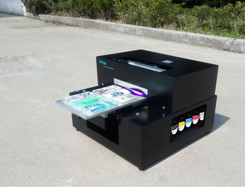 Sapphire-jet A4 Small Size Uv Flatbed Printer Cheap Plastic Card ...