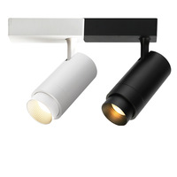 Dimmable Zoomable COB track rail spotlight led track light