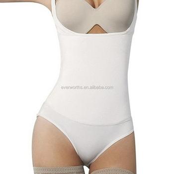 d04b8629c1 Seamless Braless Bodysuit Thong Waist Latex Cincher - Buy Seamless ...