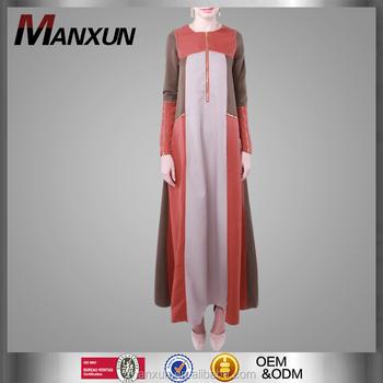 359fbf12b0d42 Maternity Wear Muslim Design Zips Ladies Muslim Dress Women Islamic  Clothing Wholesale