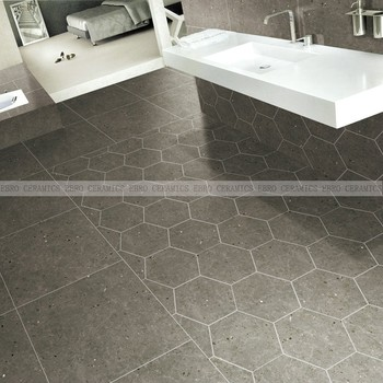 Ebro Keramik Neue Grau Farbe Rustikalen Stil Hexagon Keramik Wohnzimmer  Gres Fliesen 600x600mm 300x600mm - Buy Wohnzimmer Gres Fliesen,Rustikale ...