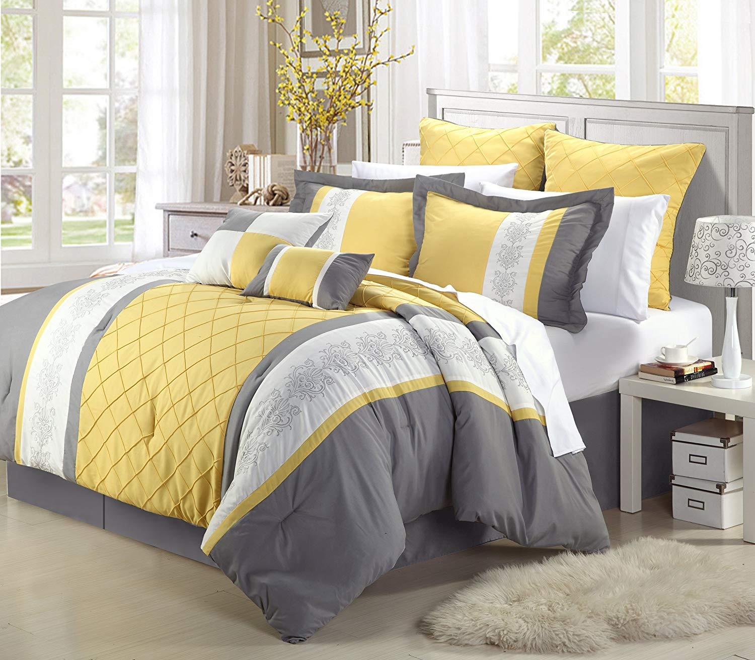 Cheap Grey And Yellow Decorative Pillows Find Grey And Yellow
