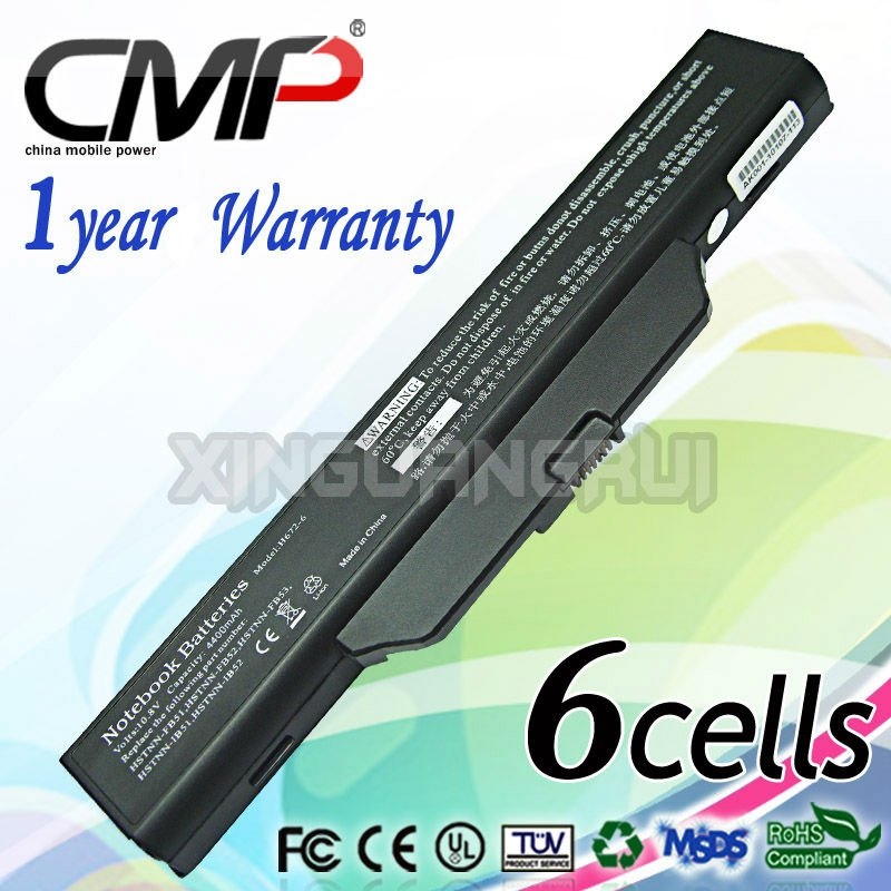 Replacement Laptop/Notbook Battery for HP Compaq 6735s 6820s 451086-161