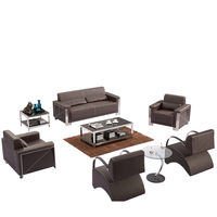 8027# leather office sofa set