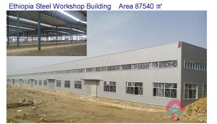 Construction building steel structure workshop