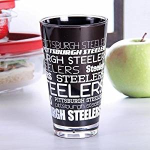 Pittsburgh Steelers NFL Pint Glass Plastic …