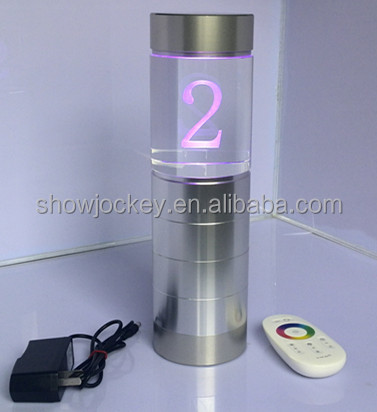 Restaurant Led Table Number Holders Buy Restaurant Led