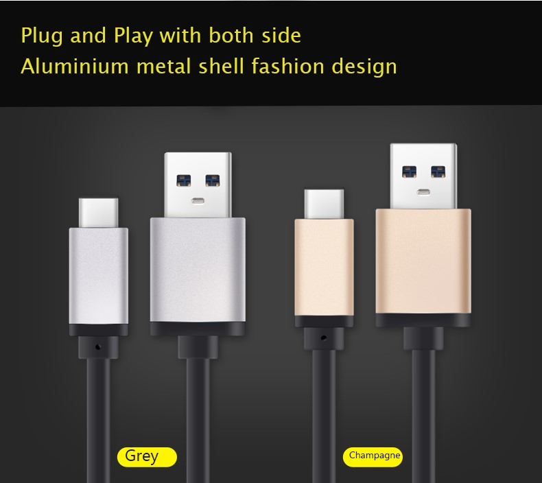 USB-C to USB 3.0 Cable for USB Type-C Devices Including the MacBook, ChromeBook Pixel