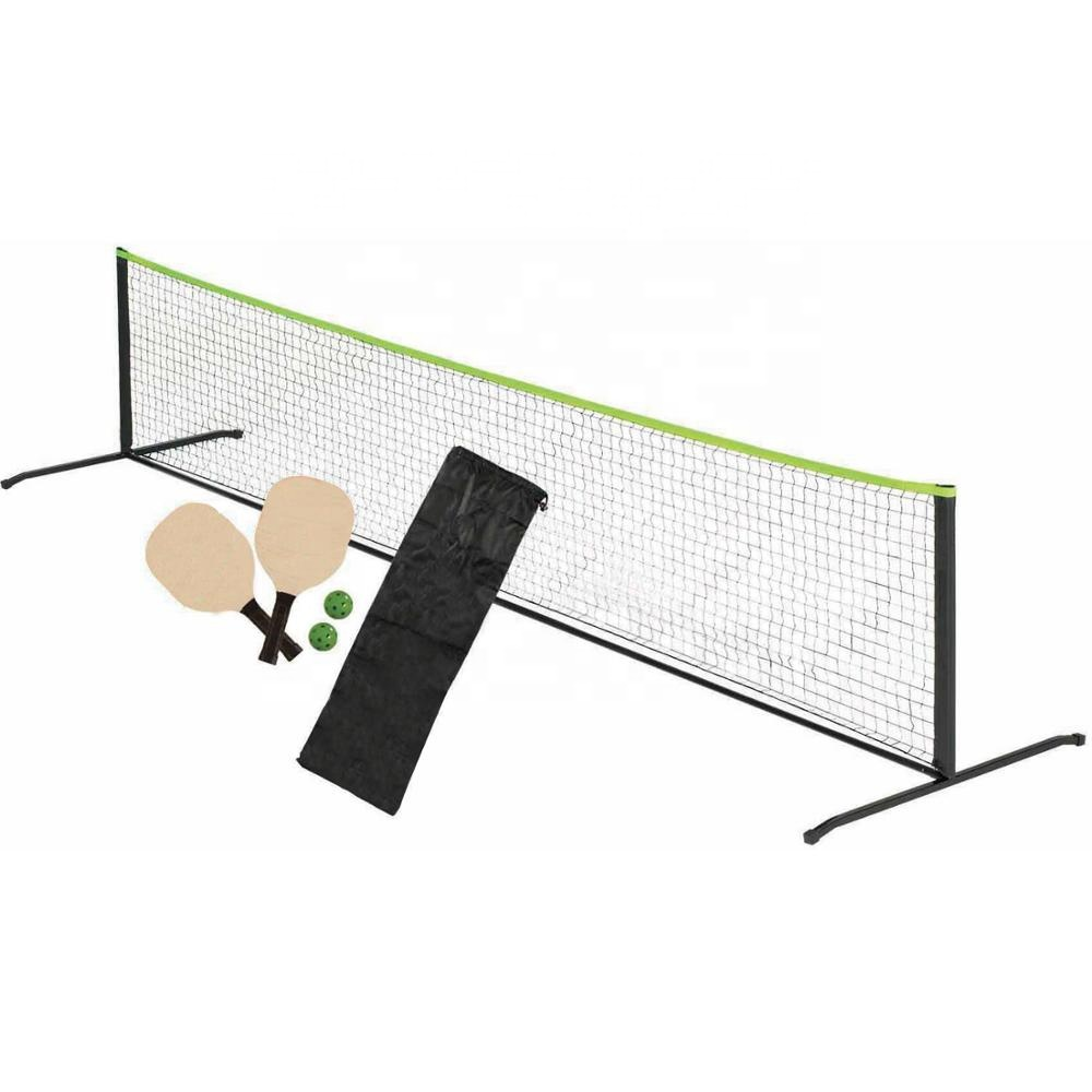 Conjunto incluem Pickleball Pá Pickleball Pickleball net