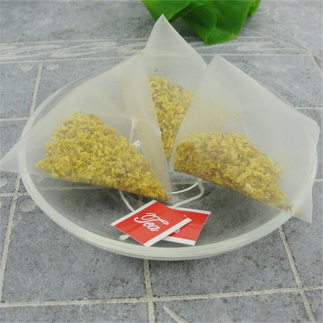 205 Chinese pure osmanthus tea flower beauty triangle tea bags - 4uTea   4uTea.com