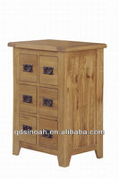 Rustic Solid oak CD Store Cabinet ( wooden CD store cabinet) AD35