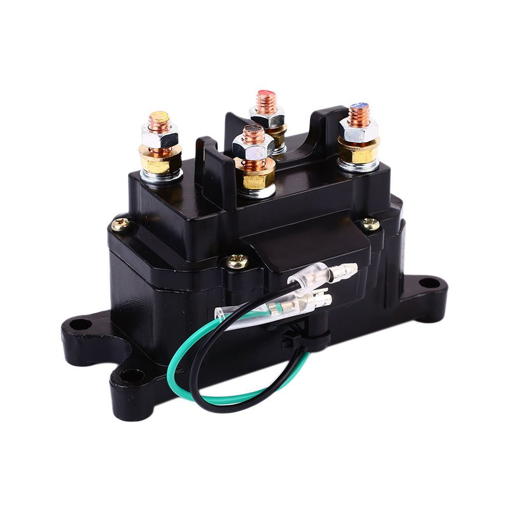 Cheap Electrical Relay Diagram Find Deals 1996 Yfb250 Timberwolf Wiring Get Quotations Auntwhale Solenoid Controller Switch 250a 12v 24v Motor Control On Off