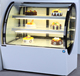 Hot sale shape cake display refrigerator for bakery