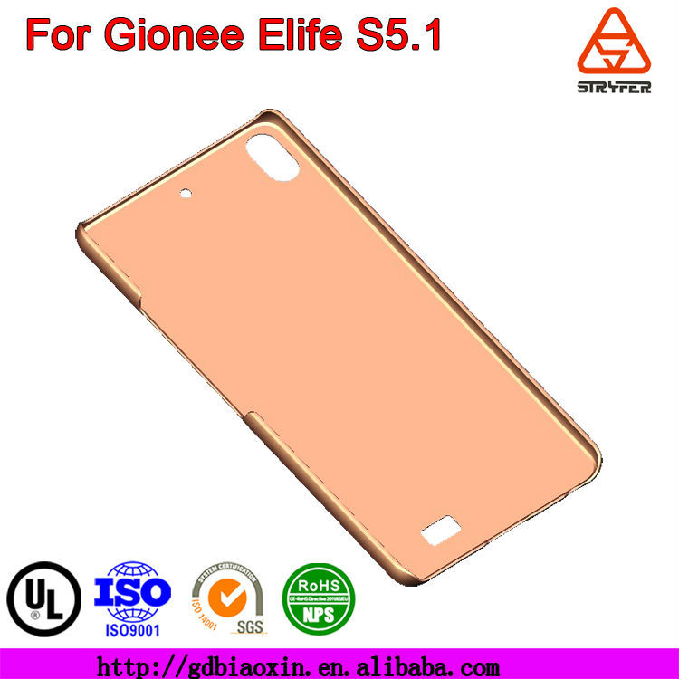 New Plastic Back BX Stylish Case for Gionee Elife S5.1 ,mobile accessories case for Gionee Elife S5.1