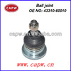 high quality ball joint for toyota LAND CRUISER ,OEM NO:43310-60010