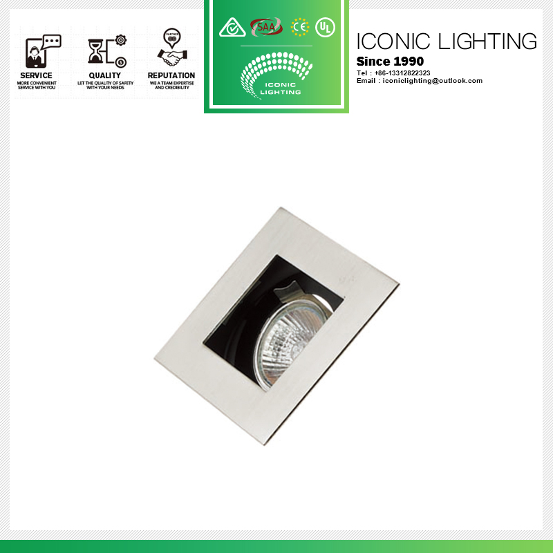 Professional led shade parts downlight fitting housing