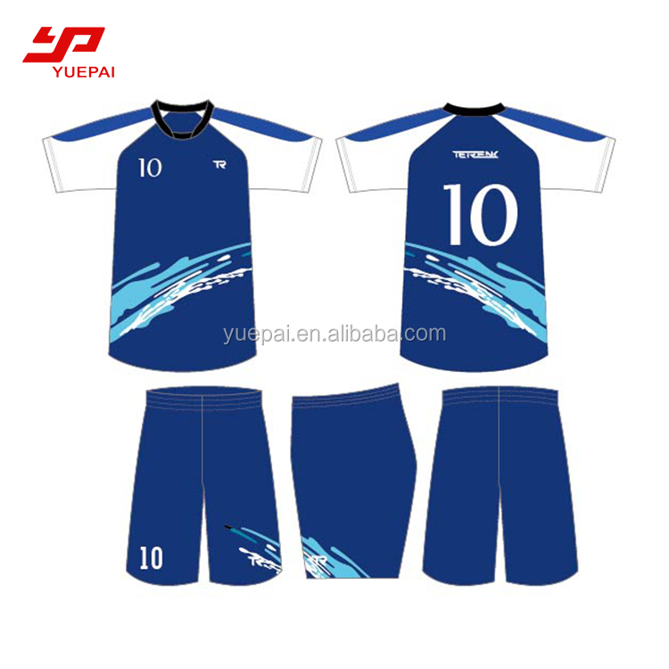 Wholesale sublimation digital printing customized soccer jersey