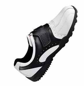 Shangtom416 Golf Shoes Men Golf Shoe 02 Breathable No-Slip Wear Resistance Black US8.5 EU42 UK8